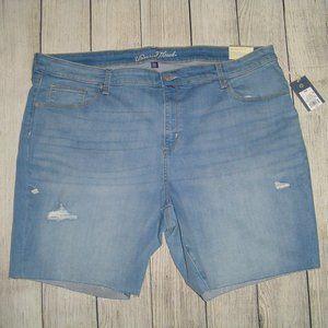 Universal Thread Mid-Rise Bermuda Jean Shorts